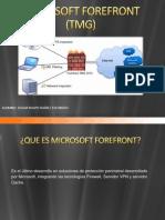 Microsoft Forefront (Tmg) Suárez Escobedo