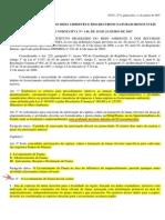 INSTRUÇÃO NORMATIVA Nº- 146, 2007 - Manejo de Fauna Em Área de Influencia de Empreendimentos