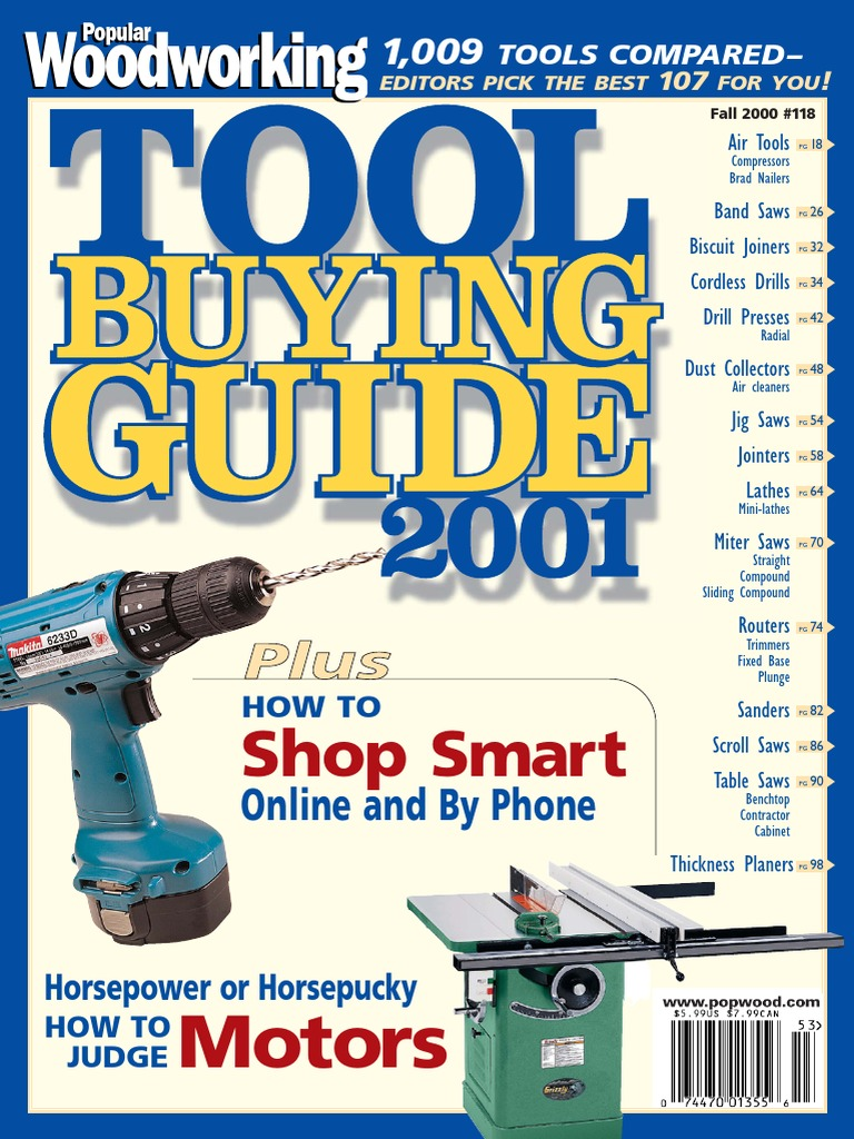 Dw744 Table Saw Wiring Diagram Popular Woodworking 2000 11 No 118 Electrical Engineering Machines