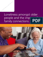 Loneliness Amongst Older People and the Impact of Family Connections