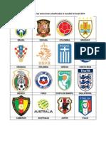 Banderas y escudos de las selecciones clasificadas al mundial de brasil 2014.docx