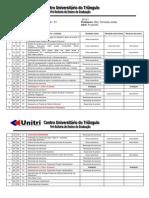 Cronograma Cálculo - 2014-1D1 Fernanda