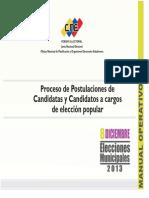 Manual de Postulacioìn Municipal