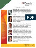 USC Annenberg/Getty Arts Journalism Fellows