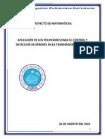 Proyecto Final Polinomios