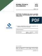 NTC 5726 Inventario de Rodales