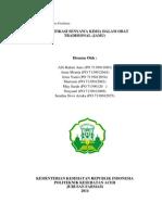 laporan praktikum fitokimia identifikasi bahan kimia dalam sediaan obat tradisional (jamu)