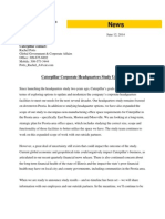 Caterpillar Corporate Headquarters Study Update June 2014