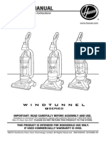 Hoover Vacuum Instructions
