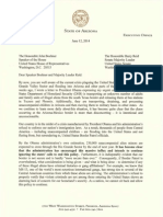 Brewer Letter to Congressional Leaders 061214