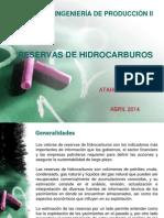 2. Reservas de Hidrocarburos