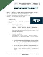 Especificaciones Tecnicas Caya Caya
