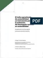 El Indice Aproximado de Sostenibilidad Un Isntrumento Para La Evaluacion Del Desempeno Nacional en Sostenibilidad-libre