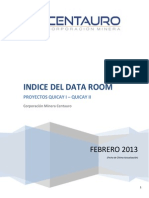 INDICE DATA ROOM PROYECTOS QUICAY I-II_ULTIMOFEB2014.pdf