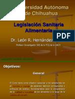 Legislacion Sanitaria Alimentaria