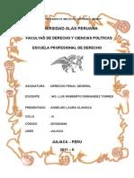 Derecho Penal General Andrade