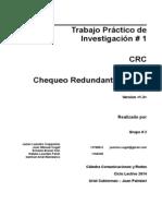 CRC - Chequeo Redundante Ciclico v1.3