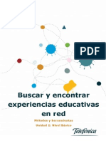 Buscar Encontrar Experiencias Educativas en Red