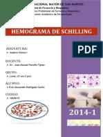 Homograma de Schilling
