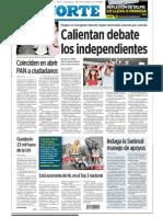 Calientan Debate Los Independientes - El Norte