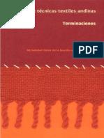 Manual de Tecnicas Textiles Andinas Terminaciones