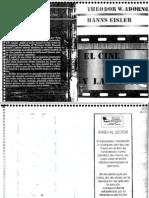Theodor Adorno y Hanns Eisler. El Cine y La Música