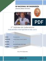 Primer Informe de Fisicoquimica.. Seccion ( r)