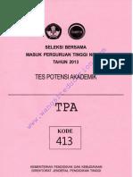 [Www.wangsiteducation.com]TPA 413