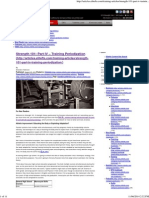 Part IV – Training Periodization