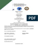 Coastguard Richelle Berdin