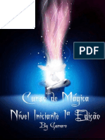 Curso de Mágica - Nível Iniciante - 1ª Edição