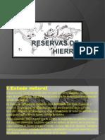 Reservas de Hierro