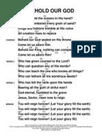 Behold Our God Rec Guitar (1)