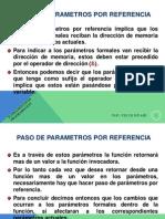 Funciones de Programador Parametros x Referencia o Variable