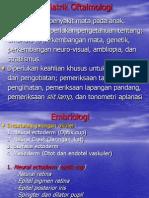 Pediatrik Oftalmologi