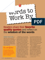 Words to Work By