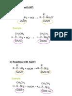 Matriculation Chemistry Amino Acids Part 2