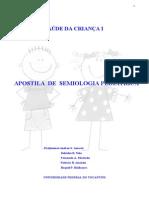 Apostila de Semiologia Pediatrica