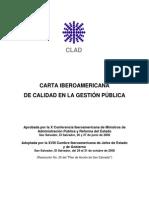 7. Carta Iberoamericana de Calidad