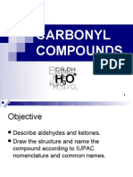 Matriculation Chemistry Carbonyl Compound