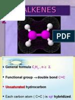 Matriculation Chemistry Hydrocarbon Alkene