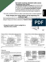 Citizen E690 Movement Guide