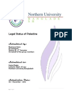 Legal Status of Palestine