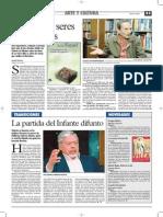 Entrevista Luis Fayad. Muerte Cabrera Infante