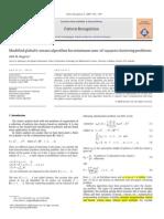Modified Globalk-means Algorithm Forminimum Sum-Of-squaresclusteringproblems