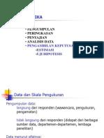 Pendahuluan Statistik