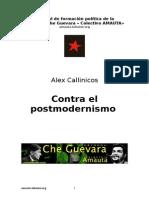 Callinicos - Contra El Posmodernismo