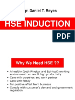 HSE Induction