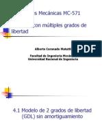 Capitulo 4 Sistemas Con Multiples Grados de Libertad