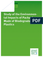 Study of the Environmental Impacts